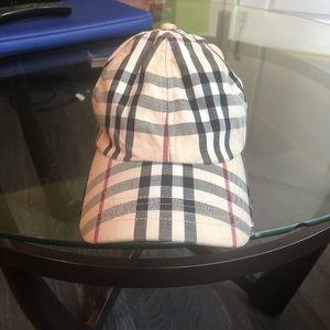 Authentic women's Burberry baseball cap